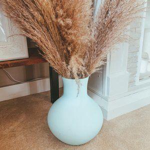 Pottery Barn Matte Sky Blue Vase